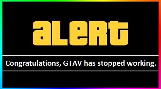 GTA 5 Is Broken?