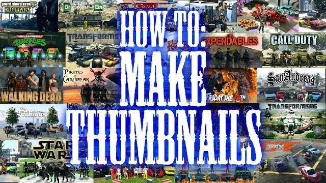 How I Created MrBossFTW's Themed Thumbnails and my Own! TUTORIAL!