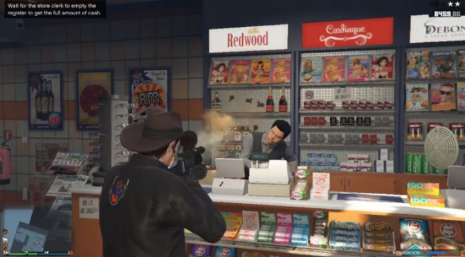 Grinding GTA Online August 26, 2018 at 1:38 PM
