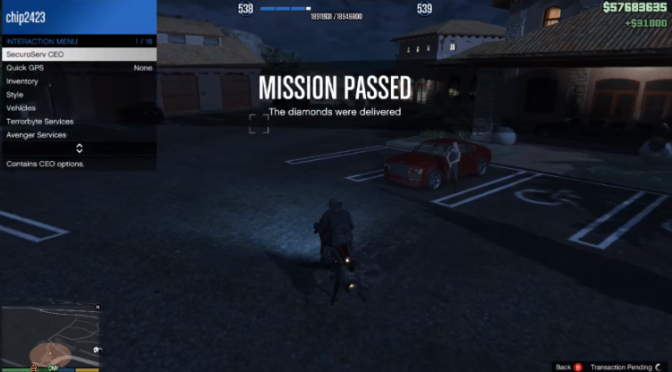 Grinding GTA Online August 27, 2018 at 10:36 PM