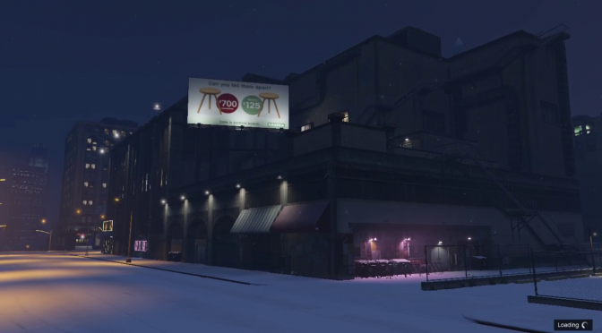 Waiting for the snow in GTA Online December 30, 2018 at 8:54 PM